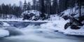 Kuusamo Finland March 2014